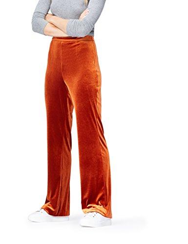 find. Pantalones de Terciopelo para Mujer, Naranja (Orange), 42 (Talla del fabricante: Large)