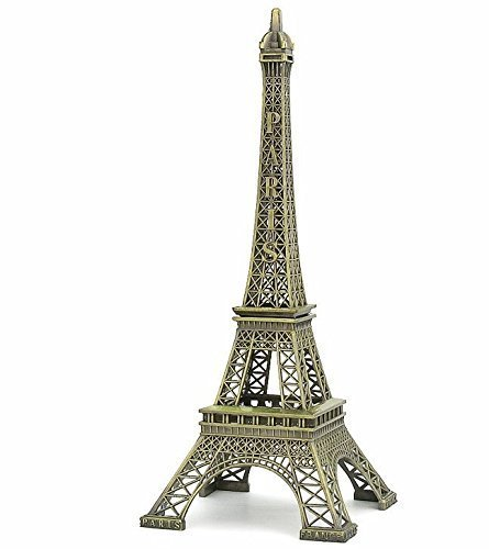 Discount4product 23 Cm Long Metal Eiffel Tower Showpiece For Home And Office