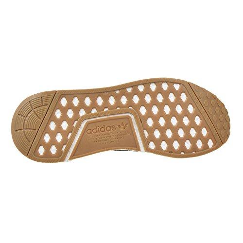 Adidas Originals NMD_R1 PK Primeknit Sneaker Chaussures Hommes Zake schwarz