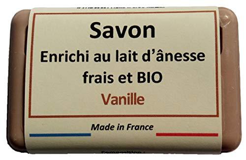 Savon au Lait d'Ânesse frais BIO - Vanille - 100gr