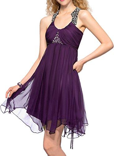 Ivydressing -  Vestito  - linea ad a - Donna Marrone