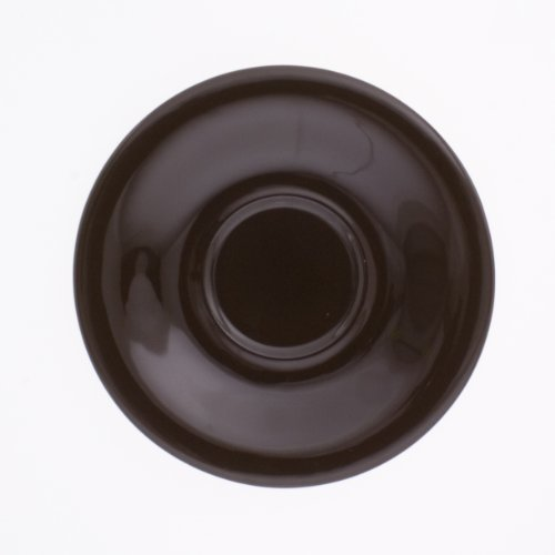 KAHLA Pronto Saucer 7 Inches, Chocolate Brown Color, 1 Piece by KAHLA - PORCELAIN FOR THE SENSES