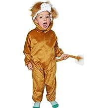 Disfraz de León - Disfraz de Animal de 5-7 años (122 CM)