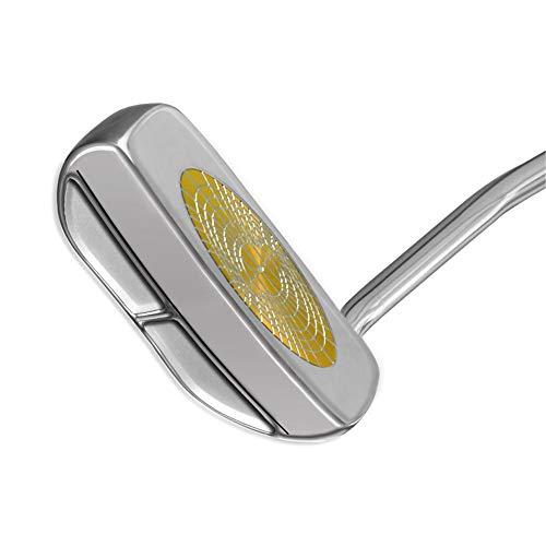 Golfschläger tragen Golfspiel Putter Ndoor Putt Übungsgolf Halbkreis Putter Golf Übungsschläger mit gutem Gummigriff für Männer Frauen Golf-Übungsputter ( Farbe : As shown , Größe : Einheitsgröße )