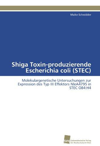 Shiga Toxin-produzierende Escherichia coli (STEC): Molekulargenetische Untersuchungen zur Expression des Typ III Effektors NleA4795 in STEC O84:H4