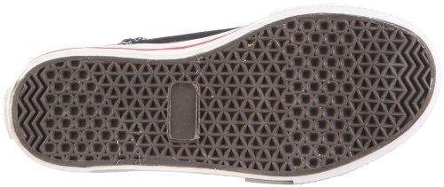 Capt'n Sharky Basti 160081 Jungen Sneaker Schwarz/Schwarz/Weiß