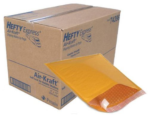 hefty-express-kraft-00-bubble-mailers-5-1-8-x-8-1-8-by-pregis-corporation