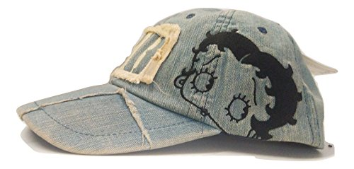 CAPPELLO BETTY BOOP DI JEANS KING FEATURES