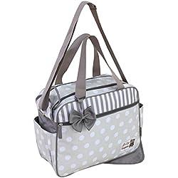 Bolsa para bebé GMMH, 2 piezas, cambiador, bolsa para pañales, bolsa para bebé, varios colores beige beige