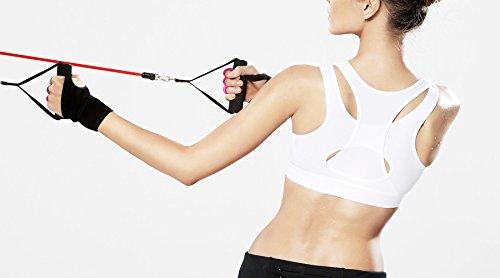 Yvette Damen Sport-Bh High Support white