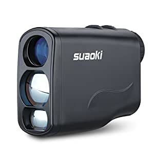 Suaoki Golf Range Finder Laser 656 Yard with Unique Distance Correction, Speed, Range, Flagpole Lock, Fog, Horizontal Distance, Height Mode (LW 600 PRO)
