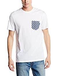 Vans CHECKERBOARD POCKET - T-Shirt Manches Courtes - Manches Courtes - Homme