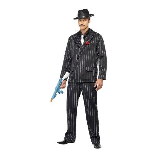 Zoot Anzug Kostüm, Jacke, rose in Revers