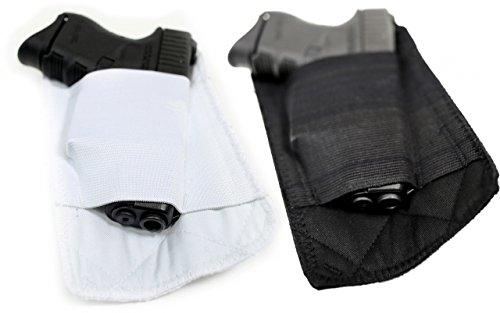 Packin'-Maglietta da uomo, per mancini, con gancio per cintura, colore: nero, taglia: s