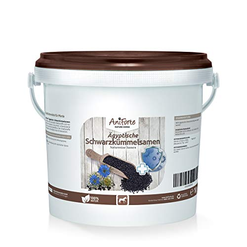 Semillas de Nigella para Caballos (1Kg) - Producto 100% Natural | AniForte