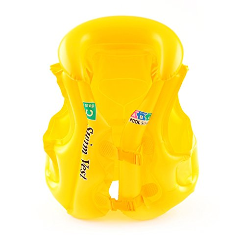 Woopower Toddler Life Jacket, baby Swim float Swim Life Vest/galleggianti per bambino gilet per bambini, per kids-flotation device 30–22,7kilogram, Random Color80-100cm