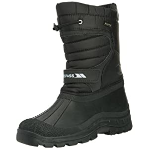 Trespass Dodo, Unisex-Adult Snow Boots , Black (Black), 9 UK (43 EU)