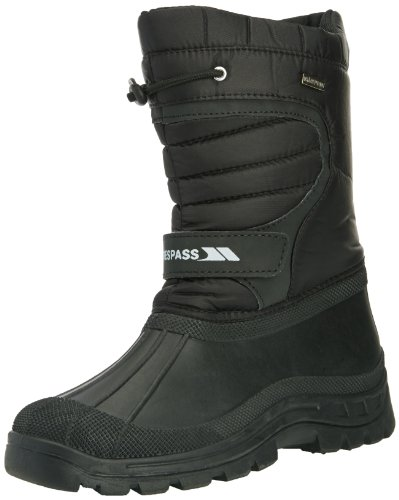 Trespass Dodo, Unisex-Adults' Snow Boots, Black, 9 UK