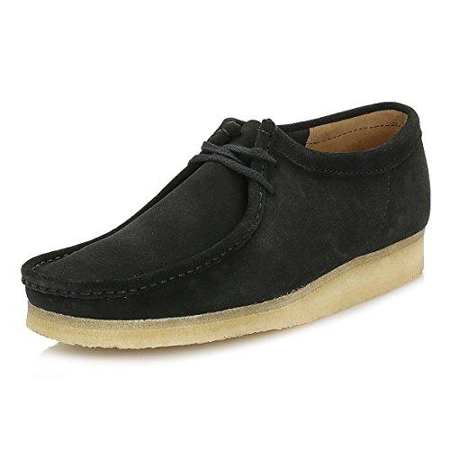 clarks-originals-mens-black-wallabee-suede-shoes-uk-9