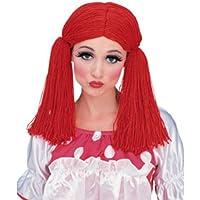 Dress up America Peluca Mujer Raggedy Ann Mop