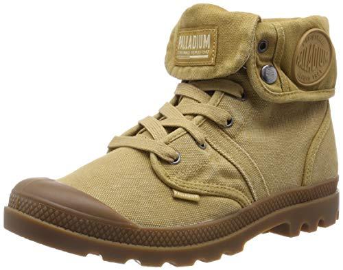 Palladium Herren Us Baggy W H Hohe Sneaker, Gelb (Apple Cinnamon T32), 42 EU