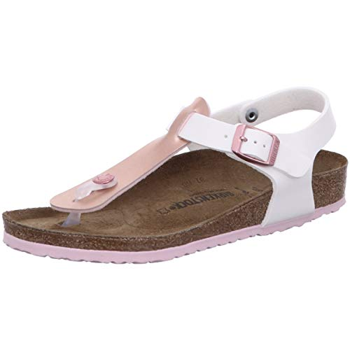 BIRKENSTOCK Kairo Kids Mädchen Sandalen Soft Metallics Rosé White, EU 38