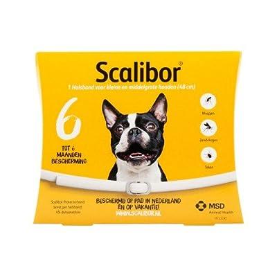 Collier Antiparasitaire Scalibor Scalibor Collar–S/M–48cm by Collier Antiparasitaire Scalibor