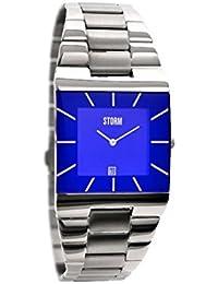 STORM London Omari XL Herrenuhr silber/blau 47195/B