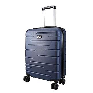 Cabin-Max-CX-Premium-Handgepck-Leichtgewicht-Hartschalen-Kabinenkoffer-mit-4-Rollen-aus-wasserfestem-ABS-Teleskopgriff-ntzlichem-TSA-Schloss-Gepckgurte-optimal-fr-Ryanair