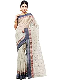 Slice Of Bengal Light Weight Broad Border Cotton Handloom Taant Tangail Saree101001000982