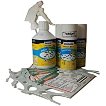 Pack insecticidas, anti chinches, productos para tratamiento pros Matress Safe de cama para (volumen de 100 m2)