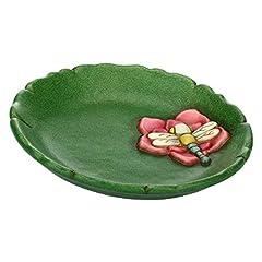 Idea Regalo - THUN - Centrotavola Piccolo - Ceramica - Linea Acqua Dolce - Ø 20 cm