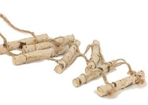 Leiter / Holzleiter zum Hängen Länge 90cm (Leiter Hängen)