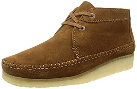 Clarks Originals Weaver Boot Cola Suede - 10 UK