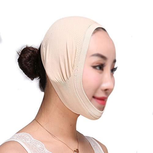 WYNZYSLBD Ligne De L'hôpital De La Chirurgie Plastique Sculpture Masque Médical De Récupération De Récupération Postopératoire Sleeping V Face Lifting Bandage Thin Masque (taille : Skin tone(B))