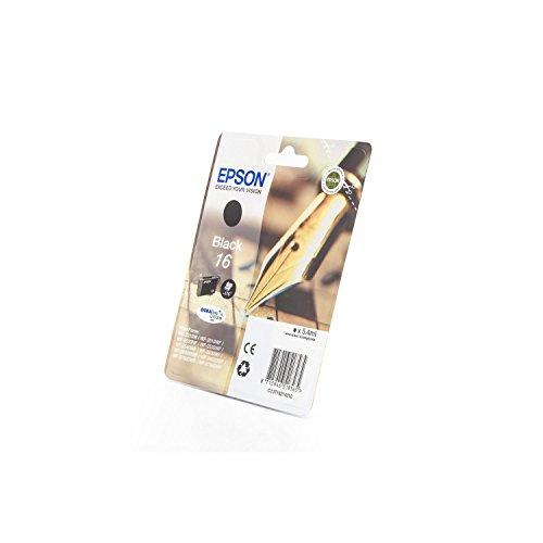 Preisvergleich Produktbild Epson original - Epson WorkForce WF-2750 (16 / C13T16214010) - Tintenpatrone schwarz - 175 Seiten - 5,4ml