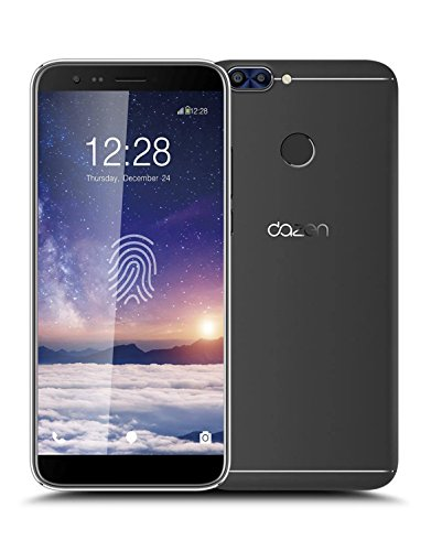 Dazen 6A Volte Phone (Finger Print Sensor 2 GB RAM Model With 5.7-inch 1080p Display, Octa-Core, 16 GB ROM (Reliance Jio 4G Sim Support) And 13 Mpix/5 Mpix Hd Smartphone In Black