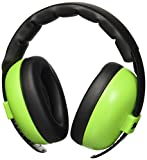 Banz Baby Ear Muff und BabyBanz Zwei Stück Combo Pack Lime Grün 0–2Jahre