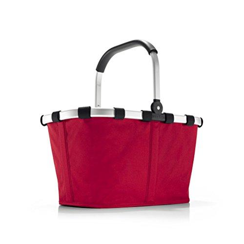 Reisenthel Carrybag Cestino per la Spesa Borsa Shopping Bag Red/Rosso BK3004