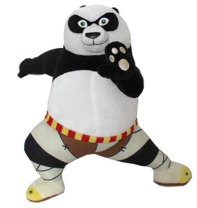 "KUNG FU PANDA - Peluche du Personnage ""Panda Po"" (28cm Kung Fu position) du film ""Kung Fu Panda"" - Qualité Super Soft"