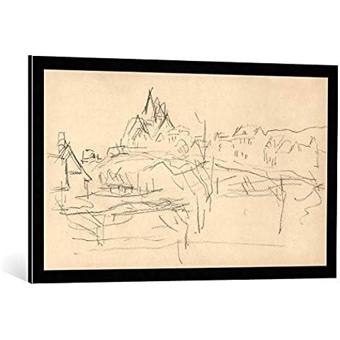Quadro con cornice: Claude Monet