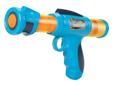 Cheatwell Games Six Shooter Popper Gun (blau/orange) (Six-guns Spiel)