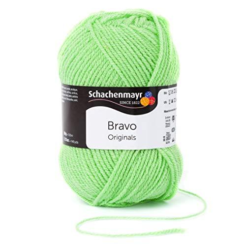 Schachenmayr Bravo 9801211-08351 kiwi Handstrickgarn, Häkelgarn -