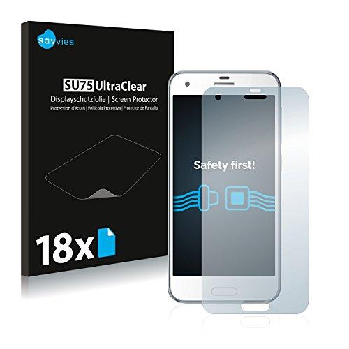 Savvies Schutzfolie kompatibel mit HTC One A9s [18er Pack] - klarer Displayschutz Htc Touch Crystal