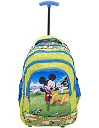 Disney School Bag For Boys & Girls 6+ Years Disney Toy Story Hop Like A Frog Single Stick 29 Liter Light Green...
