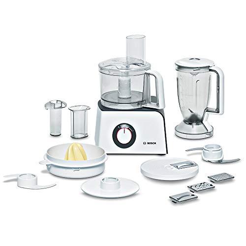 Bosch MCM4 Styline MCM4100 - Robot de cocina con accesorios, 800 W, color blanco