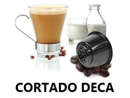 CORTADO DECA Lovespresso - 48 Capsule di caffè solubile Compatibili NESCAFE' DOLCE GUSTO® Qualità CORTADO