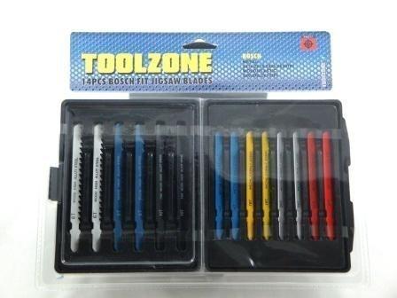 Toolzone 14Pc Bosch Per Lame Seghetto Alternativo