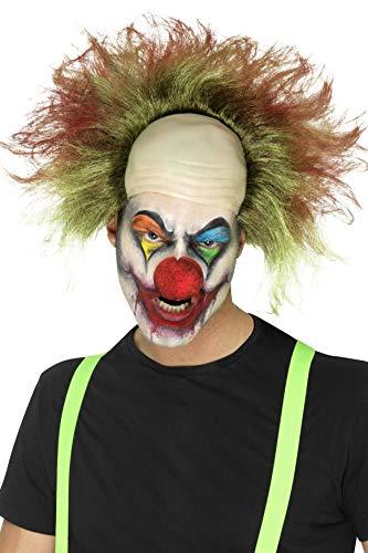 Smiffys Herren Böser Clown Perücke mit Blut