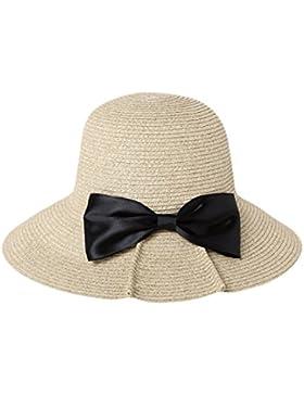 GTYW Señora Señora Señoras Pesca Sombrero SUN UV Protección Largo Ancho Verano Beach Cap Viaje Playa Senderismo...